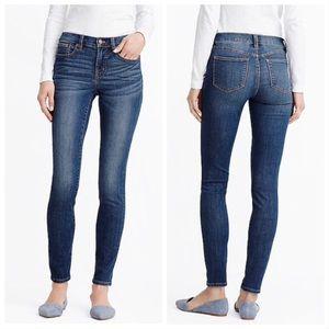 J.CREW Rockaway Wash Skinny Jeans
